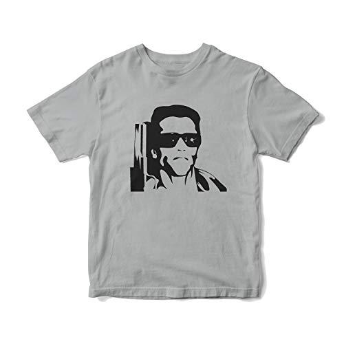 The Terminator Arnie Grey T-shirt for Men