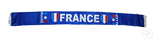 Lote / Conjunto de 6 piezas – Francia se iluminará 1.30m bufanda