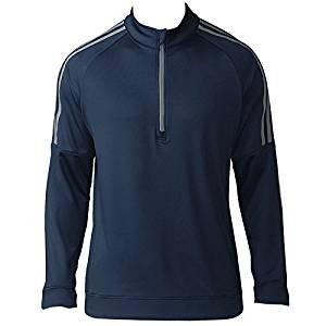 Adidas 3-Stripes Quarter-Zip Sweater