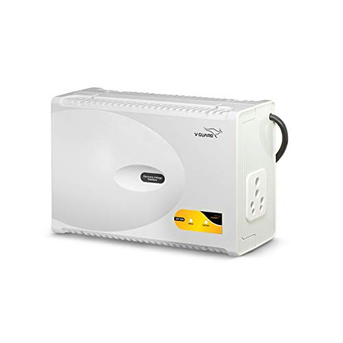 V-Guard VM 500 Voltage Stabilizer for Washing Machine, Microwave Oven, Treadmill (Grey)