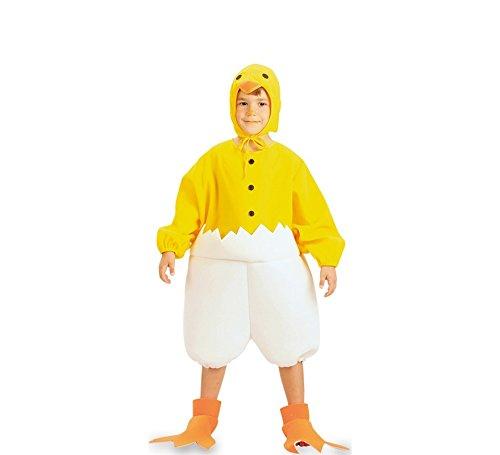 Fyasa 704656 Hühner-Kostüm für 2 bis 3