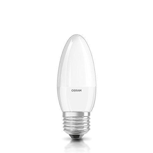 OSRAM LED Superstar Classic B/Kerzenform/40 Watt Ersatz/warmweiß/dimmbar/matt/E27
