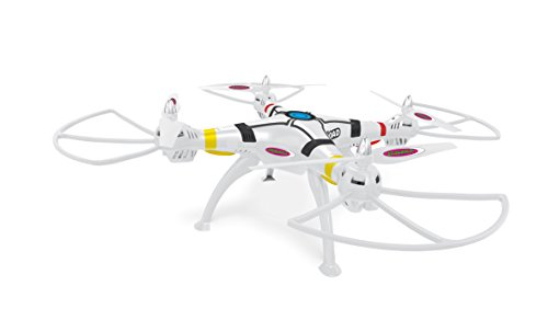 Jamara 422012 – Payload Altitude AHP Plus Quadrocopter, weiß