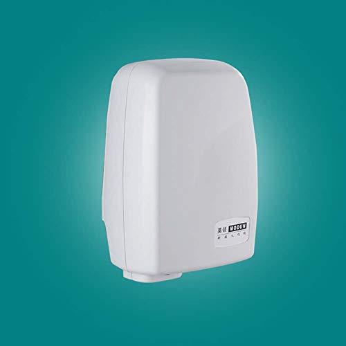 Vollautomatischer Händetrockner Automatischer Hochgeschwindigkeits Automatik Händetrockner 1000 Watt, Modernes Design Handtrockner Berührungslos Mit Sensor [Energieklasse A] ( Color : Gray ) -