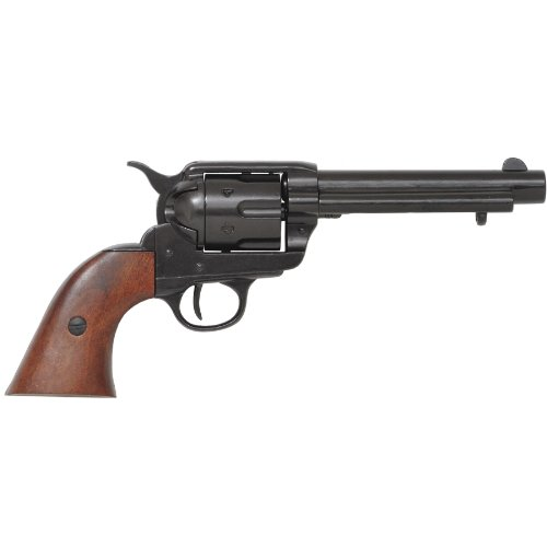 colt-peacemaker-with-wooden-handle-black-finish-1869