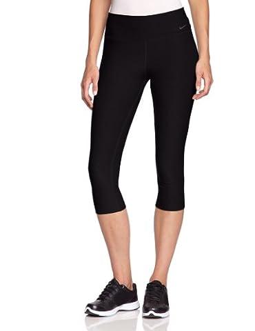 NIKE Pantalon 3/4 pour femme Legend 2.0 Tights Poly Noir Noir/gris 38