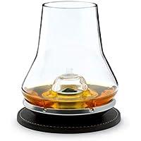Peugeot Saveurs 266097 Set de Dégustation Whisky + Socle + Rafraichisseur Verre Blanc