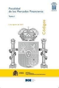 CÓDIGO DE FISCALIDAD DE LOS MERCADOS FINANCIEROS (Códigos Electrónicos)