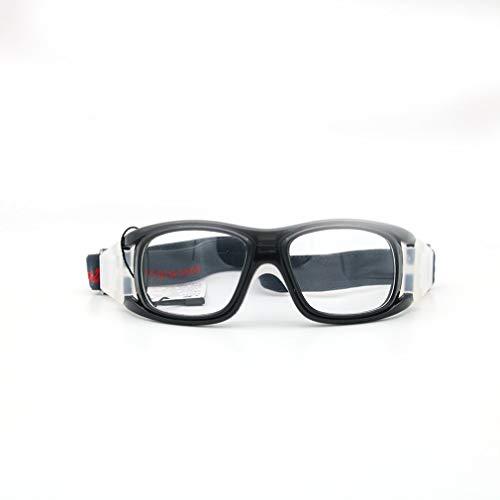 GreatWall Basketball Brillengestell Sportbrille Explosionsgeschütztes Angeln Myopia Black -