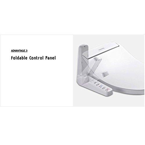 NOVITA bd-n550a WC-Bidet WC-Sitz Dry & Beheizter Sitz, Funktion deodorization weiß 220V