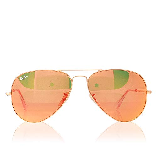 Ray-Ban 3025 Aviator Large Metal Mirrored Non-Polarized Sunglasses