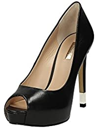 Guess Clivage Femmes Chaussures Hadie Tailler Open Toe Talon Cm 12 Pl Cm 2,5 Leather