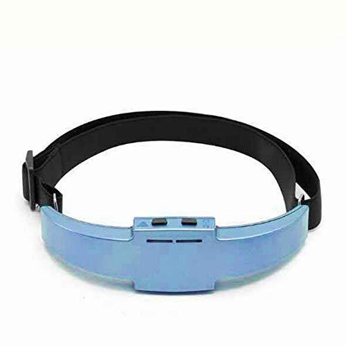 Drahtlose Aufladung Elektrische Hypnose Kopf Schlafinstrument Akupunktur Schlafmittel Instrument Schlafmittel Schlaflosigkeitshilfe (farbe: blau)