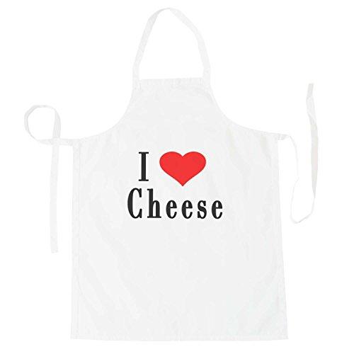 Amo formaggio novità divertente Nuovo grembiule h49b