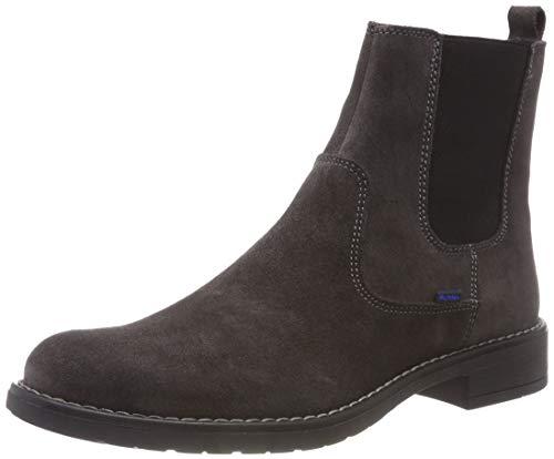 Richter Kinderschuhe Mädchen Mary Chelsea Boots, Grau (Steel 6500), 36 EU