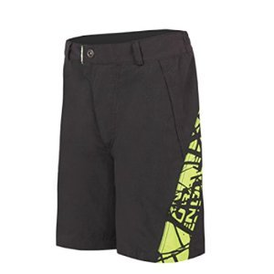 Endura HUMMVEE de ciclismo de montaña Shorts, color Negro - negro, tamaño 9-10 ans