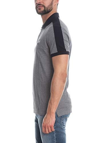 Calvin Klein Jeans Herren Shirt Color Block Detail Slim Polo -16 schwarz M -
