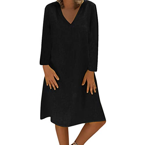 Loose 22 Dresses Kaftan Ladies Linen Women Shirt Boho Beach Dress Sleeve Size Casual For Vintage T Summer Feminino Vestido Plus Short Sundress 8 LVqSUjpzMG