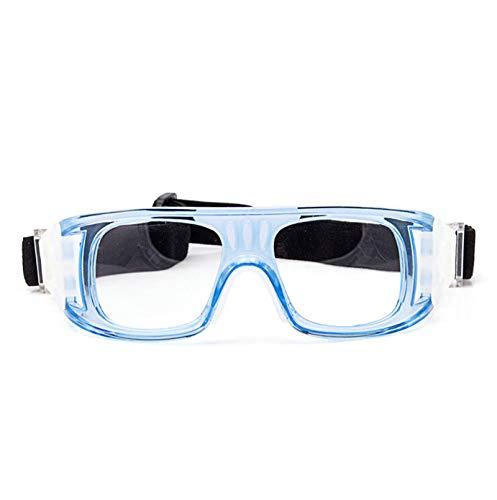 ROMQUEEN Arbeitsbrille Led Motorradbrille Getönt,Blau