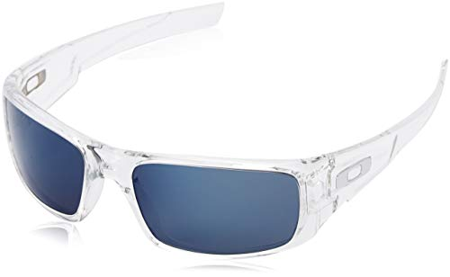 Oakley Herren Sonnenbrille Crankshaft, Clear/Ice Iridium, One Size