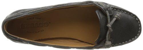 Sebago Felucca Lace, Damen Bootsschuhe Schwarz - Schwarz (Black)