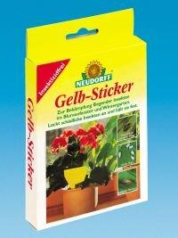 *Neudorff 33433  Gelb-Sticker 10 Stück*