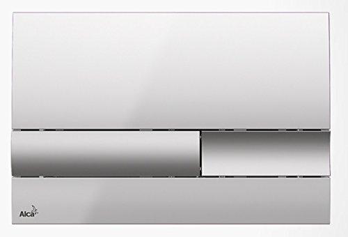 Drückerplatte für WC Vorwandelemente WC-Spüle Farbe Chrom glänzend/ matt 3L/6L Betätigungsplatte Platte Betätigungstaste
