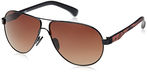 Fastrack Aviator Sunglasses (Black) (M133BR2) image