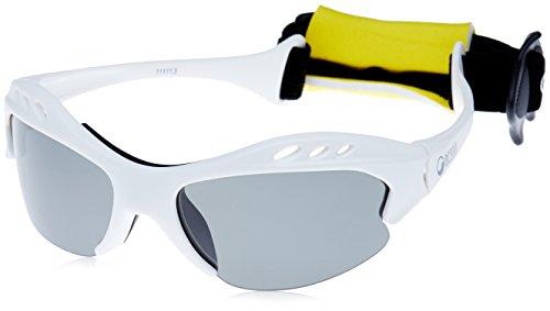 Preisvergleich Produktbild OCEAN SUNGLASSES - Mauricio - lunettes de soleil polarisÃBlackrolles - Monture : Blanc LaquÃBlackroll - Verres : FumÃBlackrolle (11111.3)