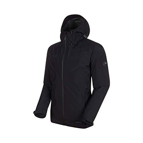 Mammut Herren 3in1 Convey Hooded Hardshell-Jacke mit Kapuze, Black, 3XL