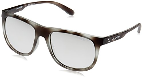 Arnette Herren 0AN4235 2462Z3 56 Sonnenbrille, Grau (Matte Grey Havana/Polargreymirrorsilver),