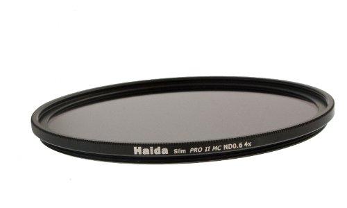 Slim Graufilter PRO II MC (mehrschichtvergütet) ND4 x 67 mm - Schlanke Fassung + Cap mit Innengriff