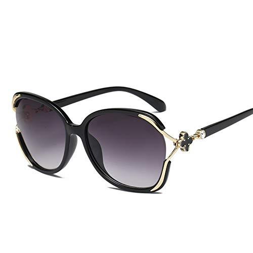 IFMASNN Outdoor, polarisiert, Sonnenbrille, Mode, Trend, Damen, Persönlichkeit, polarisiert, gerahmt, schwarzer Rahmen grau