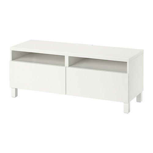 Ikea Meuble TV avec bonde tiroirs, Lappviken Blanc 4202.2058.1818
