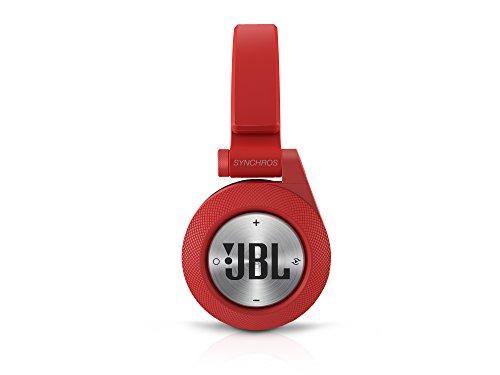 JBL BT Wireless Bluetooth On-Ear Stereo-Kopfhörer (aufladbar mit Superweichem Ohrpolster, geeignet für Apple iOS/Android Geräten) rot - 4