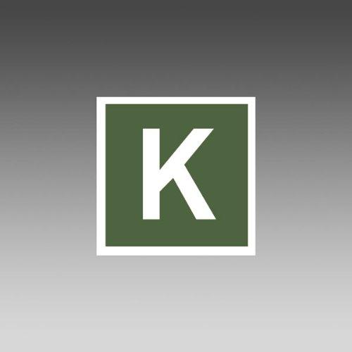 Hinweisschild für Kfz Zeichen für Kombi-Verkehr, gem. KraftStG,selbstkl.15x15cm