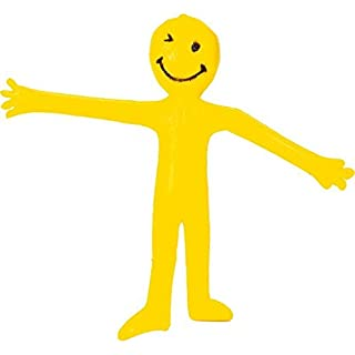 Stretchy Smiley Man - Yellow