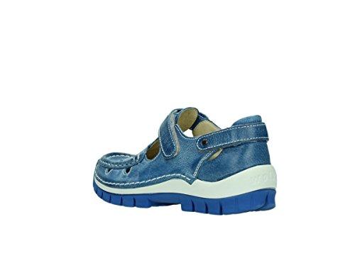 Sandali Wolky KA Blu (381 kobalt blau Leder)