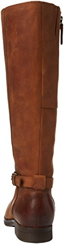 Sebago Damen Nashoba High Kurzschaft Stiefel Braun (Brown Leather Wp)