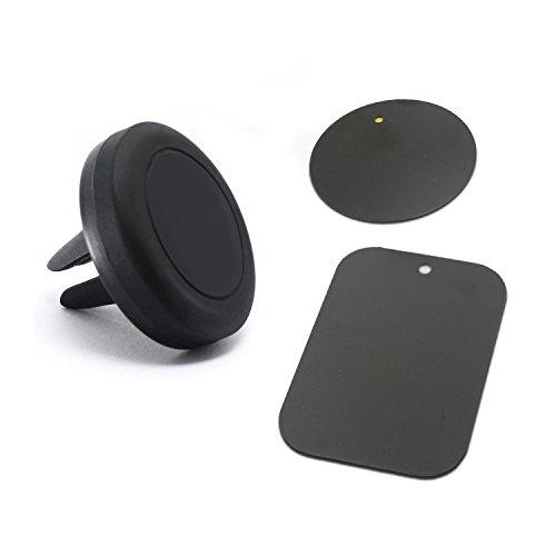 Go Beyond (TM) KFZ-Halterung, universal für Lüftungsgitter, mit Magnet, KFZ,Halterung für Handys und Mini,Tablets, magnetischs Handy-Halterung (schwarz)