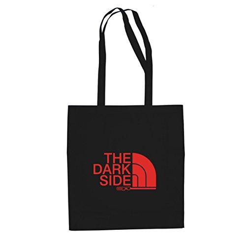 The Dark Side - Stofftasche / Beutel, Farbe: schwarz