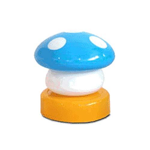 Halloween-Dekorationsset mit LED-Touch, Nachtlicht, Hellblau, 1 Packung Geschenke für Kinder in Halloween