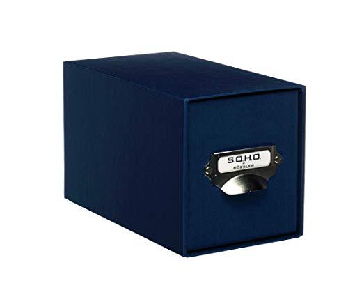 Rössler 1327452900 Module de rangement de CD (Bleu marine) (Import Allemagne)