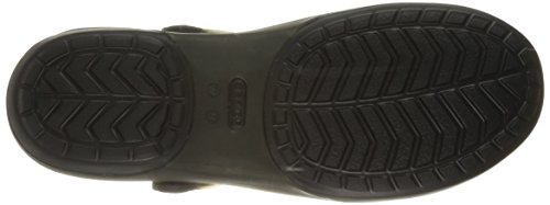 Crocs Carlie Cut Out Clog W Sandali da Donna Nero (Black/Black)