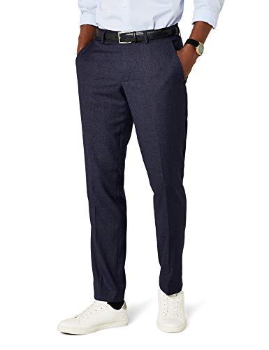 ESPRIT Herren Premium 037EO2B016 Anzughose, Blau (Navy 400), 50