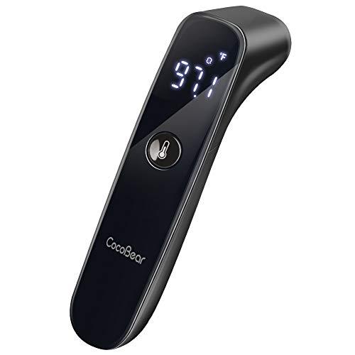 CocoBear Baby Digital thermometer, Infrarot thermometer, Kinder und Erwachsenen thermometer, thermometer stirn,genaue Messung von 1 Sekunde Messzeit