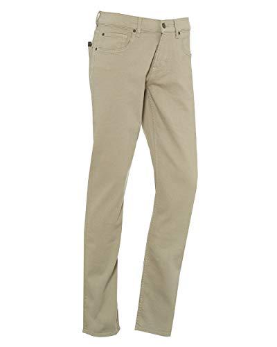 Seven for all Mankind International SAGL Herren Slim Jeans Slimmy Beige (Luxe Performance Colors 0Ad) W36/L34 (Herstellergröße:36)
