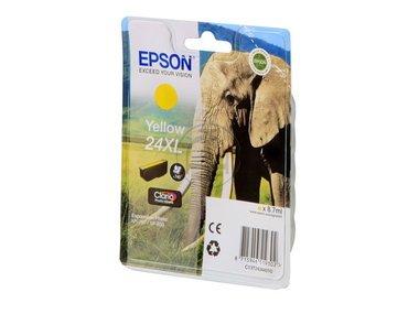 Epson Expression Photo XP-750 (24XL / C 13 T 24344010) - original - Tintenpatrone gelb - 500 Seiten - 8,7ml -