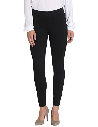 Berydale Treggings de mujer, pantalones con elastano, Negro, 38