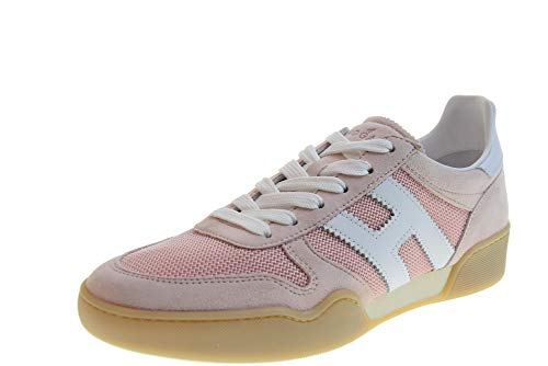 Hogan Scarpe Donna Sneakers Basse HXW3570AC40KRF0QEJ H357 Taglia 37 Rosa